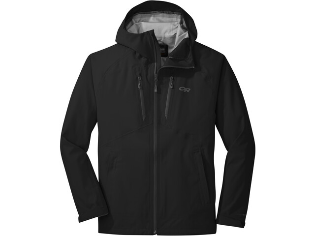 Outdoor Research MicroGravity Veste AscentShell Homme, black